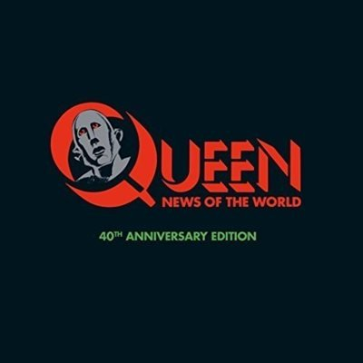 Постер к Queen - News Of The World [40th Anniversary Super Deluxe Edition] (2017)