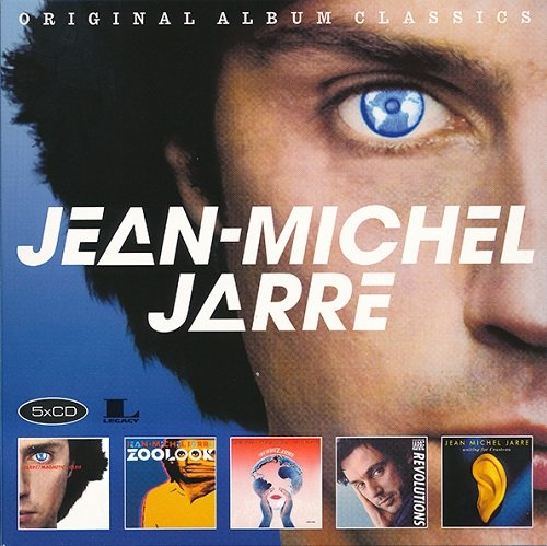 Постер к Jean-Michel Jarre - Original Album Classics [5CD Box Set] (2017)