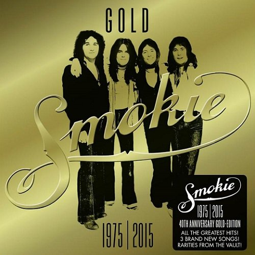 Постер к Smokie - Gold 1975-2015: 40th Anniversary Gold Edition [Deluxe Version] (2015)