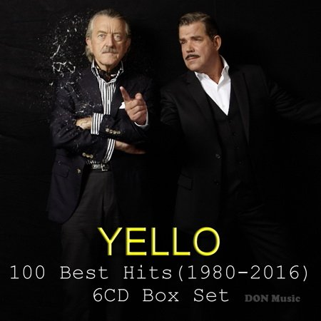 Постер к Yello - 100 Best Hits [6CD] (1980-2016)