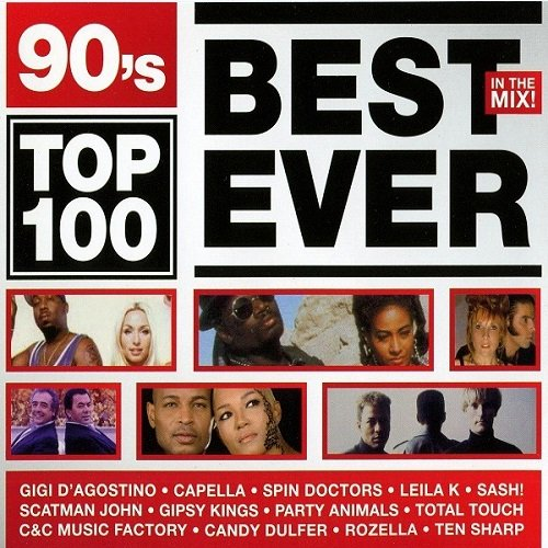 90's Top 100 Best Ever In The Mix. 3CD (2010)