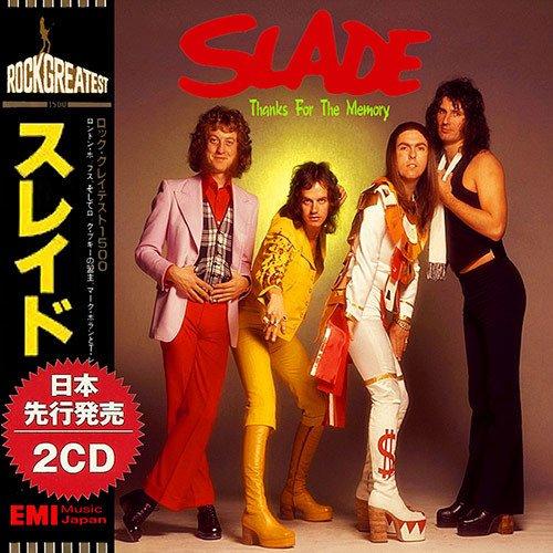 Постер к Slade - Thanks For The Memory. 2CD (2018)