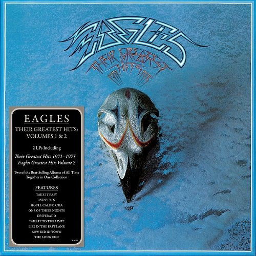 Постер к Eagles - Their Greatest Hits. 2CD (2017)