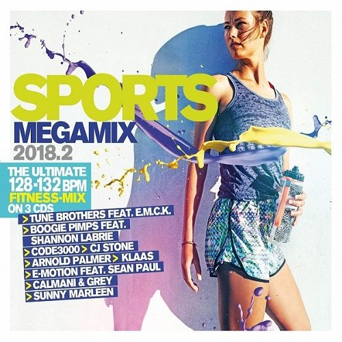 Постер к Sports Megamix.2 3CD (2018) MP3