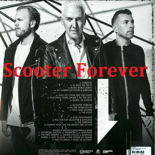 Постер к Scooter - Scooter Forever. 2CD (2017)
