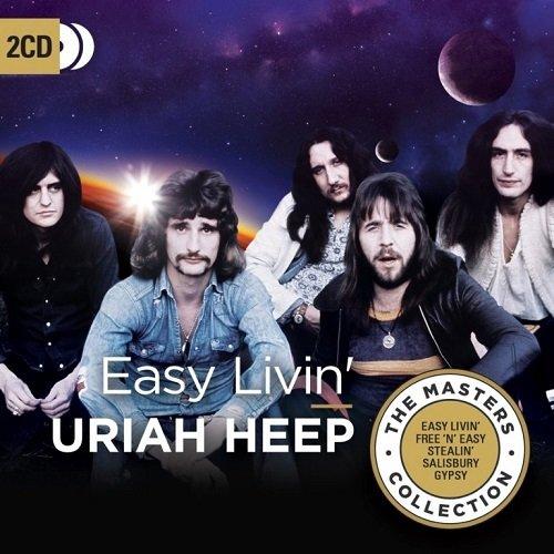Постер к Uriah Heep - Easy Livin'. 2CD Limited Edition (2018)