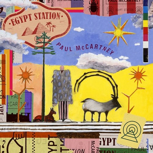 Постер к Paul McCartney - Egypt Station (2018)