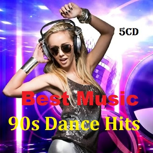 Best Music 90s Dance Hits. 5CD (2018)