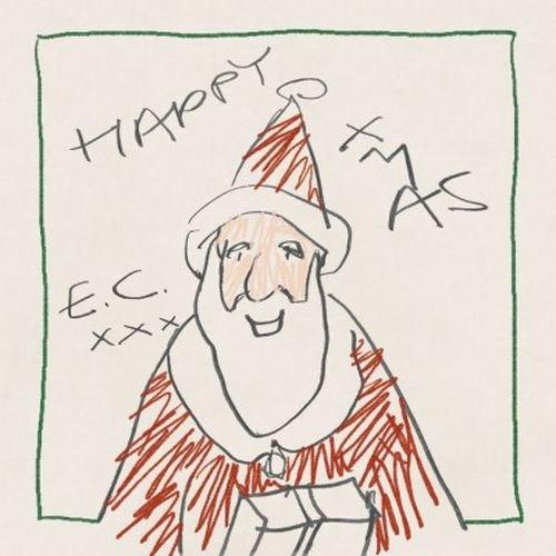 Постер к Eric Clapton - Happy Xmas (2018)