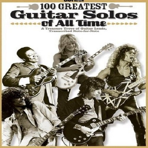 Постер к 100 Greatest Guitar Solos Of All Time (2018)