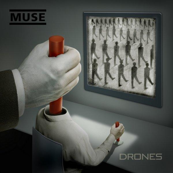 Постер к Muse - Drones (2015)