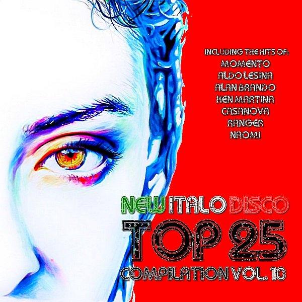 Постер к New Italo Disco Top 25 (2018)
