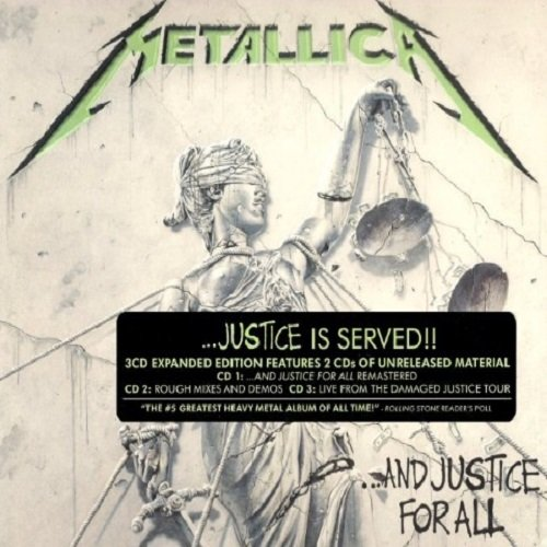 Постер к Metallica - ...And Justice for All (Remastered 2018) [3CD Expanded Edition] (2018) MP3