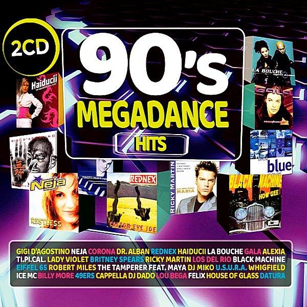 Постер к 90s Megadance Hits (2018)