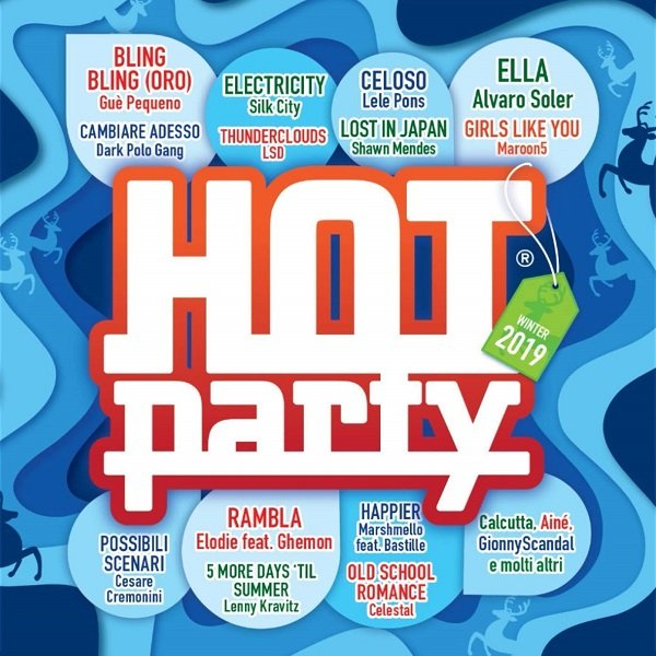 Постер к Hot Party Winter 2019. 2CD (2018)