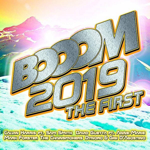Постер к Booom 2019 The First. 2CD (2018)
