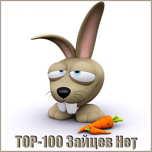 Top 100 Зайцев.Нет. Ноябрь (2018)