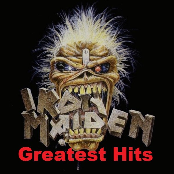 Постер к Iron Maiden - Greatest Hits (2017)
