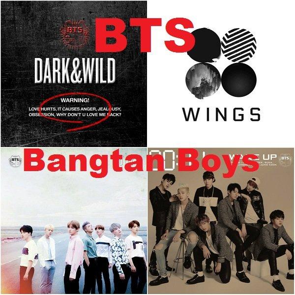 Постер к Bangtan Boys / BTS - 4 альбома (2014-2016)