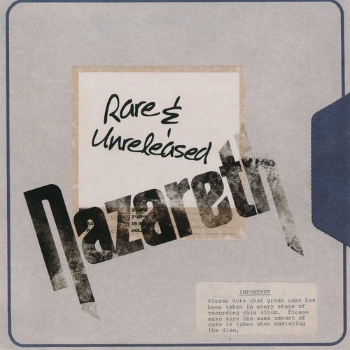 Постер к Nazareth - Rare & Unreleased. 3CD (2018) MP3