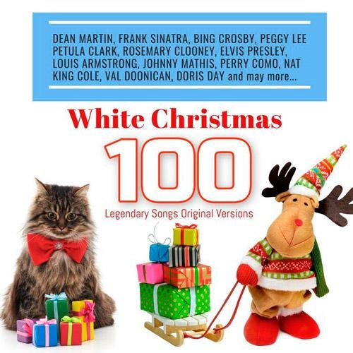 Постер к White Christmas: 100 Legendary Songs Original Versions (2018)
