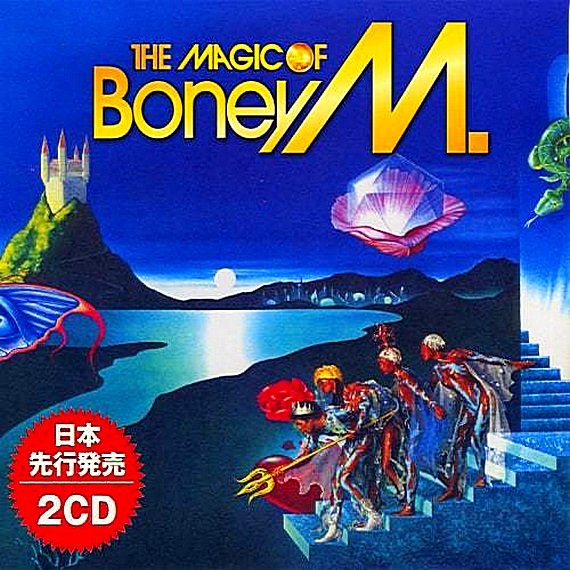 Постер к Boney M. - The Magic. 2CD (2019)