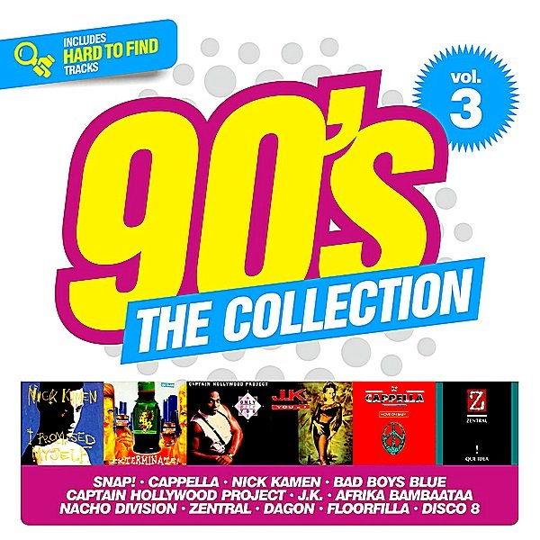 Постер к 90's The Collection Vol.3. 2CD (2019)