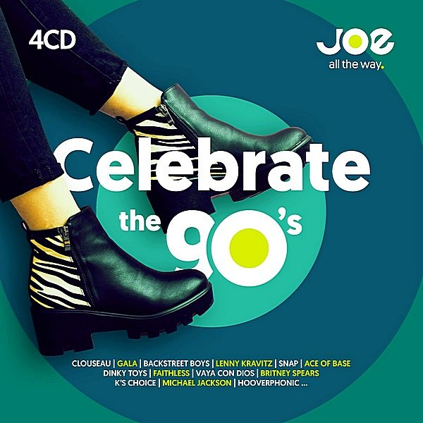 Постер к Joe FM Celebrate The 90's. 4CD (2018)