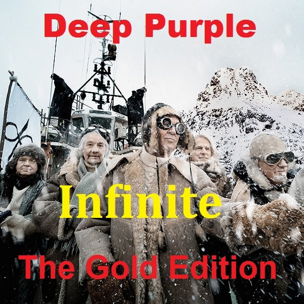 Постер к Deep Purple - Infinite. The Gold Edition (2017)