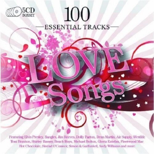 Постер к 100 Essential Tracks: Love Songs. 5CD (2010)