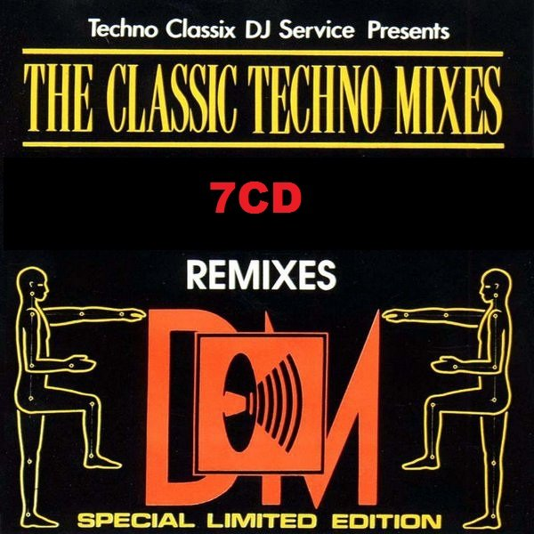 Постер к The Classic Techno Mixes. 7CD (1992-1993)