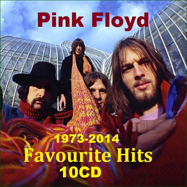 Постер к Pink Floyd - Favourite Hits. 10CD 1973-2014 (2019)