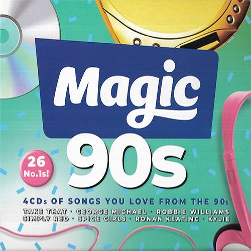 Magic 90s. 4CD (2018)