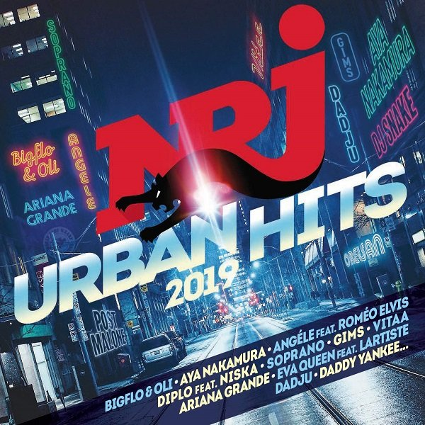 NRJ Urban Hits. 2CD (2019)