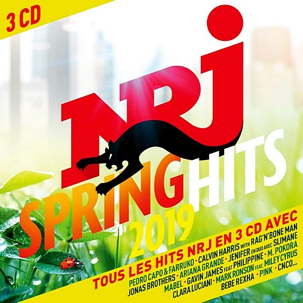 NRJ Spring Hits. 3CD (2019)