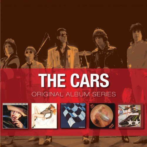 Постер к The Cars - Original Album Series. 5CD Box Set (2012)