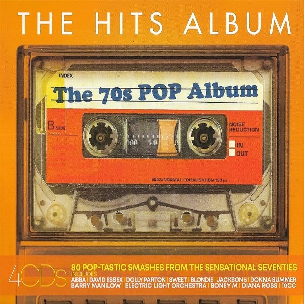 Постер к The Hits Album - The 70s Pop Album. 4CD (2019)