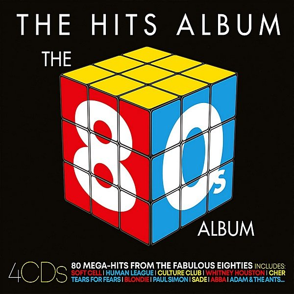 Постер к The 80s Album. 4CD (2018)