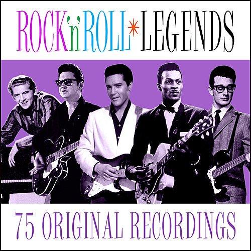 Постер к Rock n Roll Legends - 75 Original Recordings (2019)