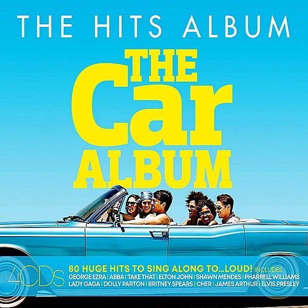 Постер к The Hits Album: The Car Album. 4CD (2019)