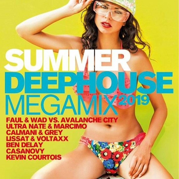 Постер к Summer Deephouse Megamix. 2CD (2019)