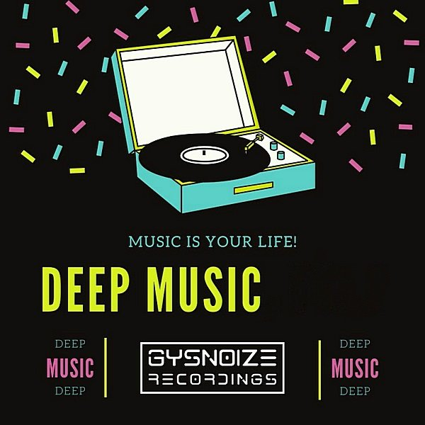 Постер к Deep Music is your life (2019)