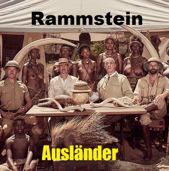 Постер к Rammstein - Auslander (2019) WEBRip 1080p