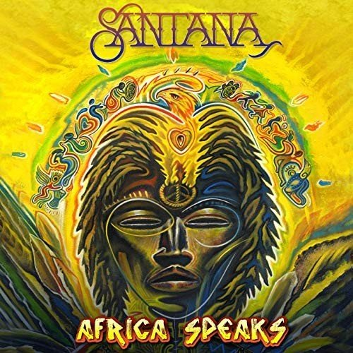 Постер к Santana - Africa Speaks [Bonus Version] (2019)