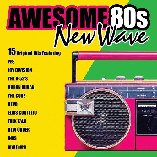 Постер к Awesome 80s New Wave (2019)