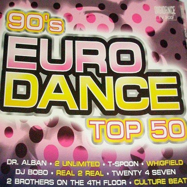Постер к 90's Euro Dance Top 50 (2007)