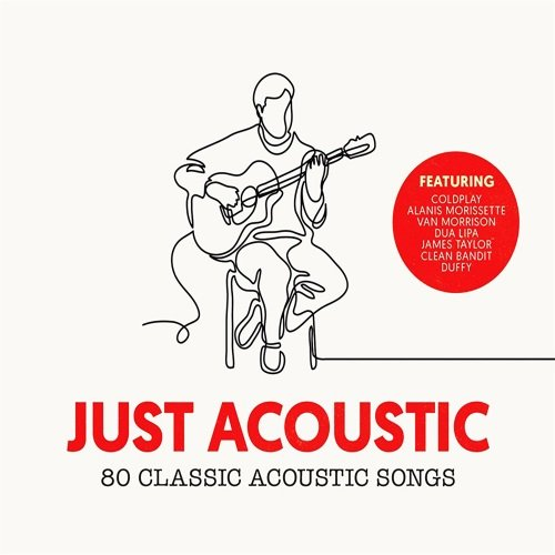 Постер к Just Acoustic: 80 Classic Acoustic Songs (2018)