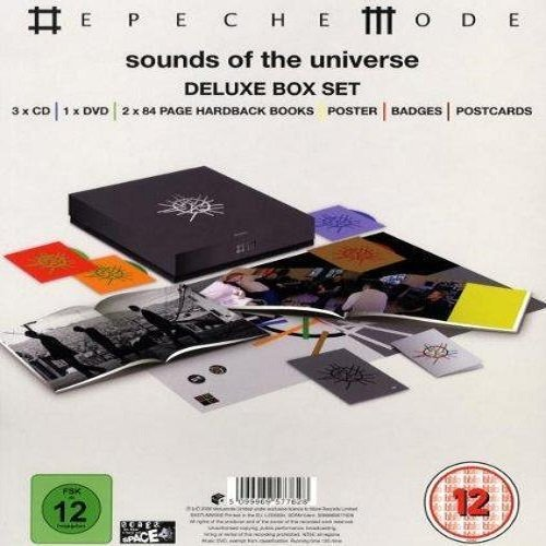 Постер к Depeche Mode - Sounds of the Universe. 3CD Deluxe Box Set (2009)