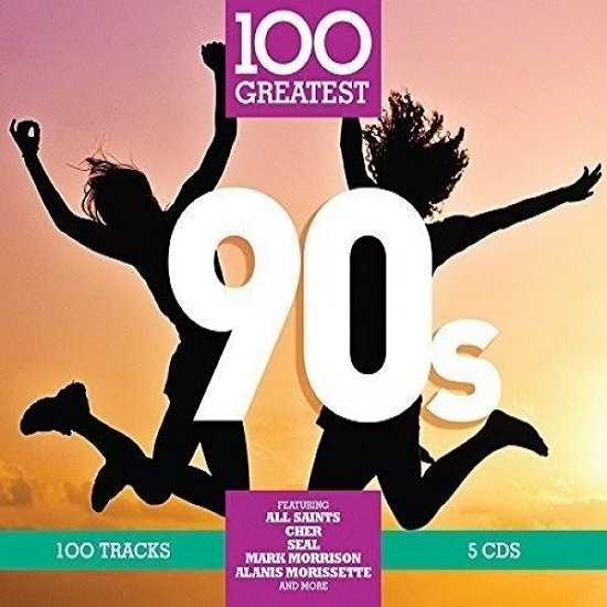 Постер к 100 Greatest 90's. 5CD (2017)