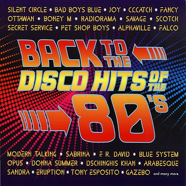 Постер к Back To The Disco Hits Of The 80's (2010)